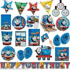 Thomas The Tank Engine Birthday Childrens's Party Tableware Supplies Decorations