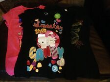 Girls Graphic Short SleeveTee, Hello Kitty, Butterfly, Puss N Boots,  Free Ship