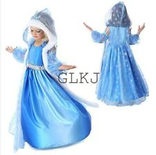 Snow Queen Party Dress For Girl 2014 Princess Dresses Children clothing 4T -12