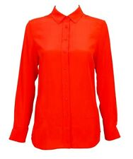 @STUDIO LUXURY NWT $150 Sportscraft Pure SILK Lara POPPY Longline SHIRT