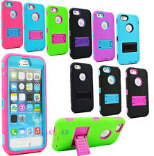 """Hybrid Stand Soft Silicone Hard Case Cover For Apple iphone 6 (4.7"""")"""
