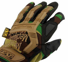 M-pact 55 Mechanix Wear Style Airsoft/Heavyduty Full Finger Gloves Woodland