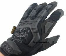 M-pact 55 Mechanix Wear Style Airsoft/Heavyduty/Sport Full Finger Gloves Black