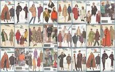 Vogue Sewing Pattern Misses Coats Capes Winter Outerwear  You Pick