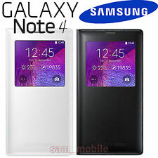 SAMSUNG Galaxy Note4 SM-N910 Genuine S View Cover Classic Edition EF-CN910F NEW!