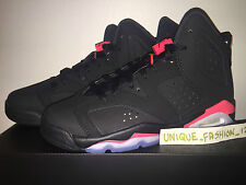 NIKE AIR JORDAN RETRO VI 6 BLACK INFRARED 3 4 5 7 2014 GS BG WHITE OLYMPIC BRED