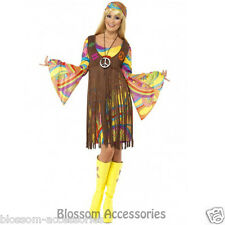 CL206 1960s Groovy Lady Hippie 70s Disco Retro Groovy Go Go Dance Party Costume