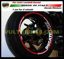 Decal kit for Ducati 899 Panigale 1199 Panigale Superbike strips wheels