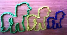 My Little Pony Cookie Cutter - MLP - Choice of  Sizes - 3D Printed Plastic