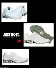 Nike Shox Classic II Mens 8.5 -12 Running Shoes White Metallic Silver 343900 BOX