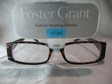 Foster Grant Gracie Brown Tortoise Reading Glasses +1.00 1.25 1.75 2.00 2.75
