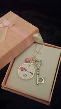 Artist band jewellery necklace fan boy girl band charm perfect xmas gift ONE D
