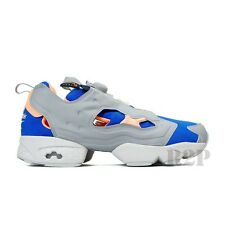 Reebok Insta Pump Fury (Tin Grey/Reebok Royal/Neon Sign) Men's Shoes V61747