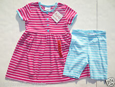 Hanna Andersson 110 120 Girls Dresses Shorts SET NEW Playdress outfits 6 7 8 NWT