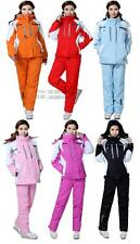 Popular Women's Outdoor Waterproof Windproof Warm Ski Clothing Ski Pants Suit