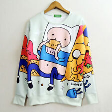 Adventure Time with Finn and Jake Cosplay Costume Sweater Jacket Coat New0