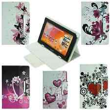Universal Case Protective Cover Tablet Cell Phone Tab Flowers Bag 10""
