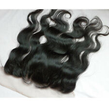 Body Wave Closure Virgin Brazilian Frontal 13x4 Full Lace Human Hair Extensions