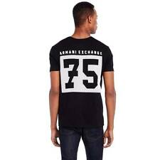New Armani Exchange Mens Slim Muscle Fit Jersey Tee Shirt g6x754