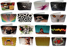 Oyster Card Holder Wallets for Train Tickets and Bus Pass w/ Full Colour Designs
