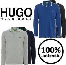 HUGO BOSS LONG SLEEVE POLO ON SPECIAL OFFER