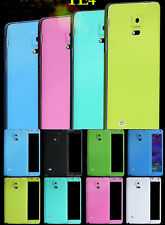 Pure Color Full Body Decal Skin Sticker Wrap Case Cover For Samsung Note 4 N9100