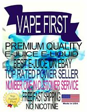 VAPE FIRST PREMIUM E-LIQUID E-JUICE 50ML BOTTLES
