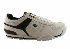LACOSTE REIJO BX MENS LEATHER CASUAL LACE UP SHOES/SNEAKERS/FASHION/SALE