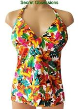 Victoria's Secret FOREVER SEXY Floral Wireless Padded Pushup Tankini Top NEW $52