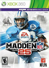 Madden NFL 25  Xbox 360, Adult owned, perfect condition, w/case, best game.