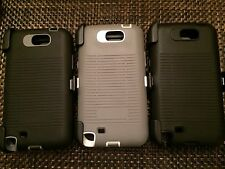 heavy duty shock proof defender hard case for samsung galaxy note 2