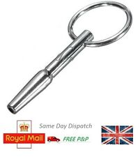 "2"" Stainless Steel Tapered Swell Urethral Penis Plug Hole Glans Ring Stopper"
