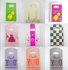 Wholesale Lot New Pretty Plastic Shopping Small Plastic Packing Gift Bag 15x9cm