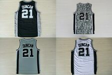 San Antonio Spurs #21 Tim Duncan Basketball Jersey High Quality Embroidery