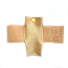 Thigh Pouch / Case for Insulin Pump, Asthma Inhaler or Mobile Phone (Nude)