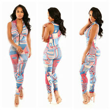 New Sexy Womens Clubwear Party Outfit Bodycon Bandage Evening Dress Jumpsuit