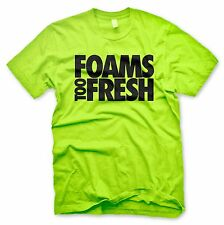 New NEON Foams Too Fresh T Shirt Inspired By Nike Volt Tennis Ball Foamposite