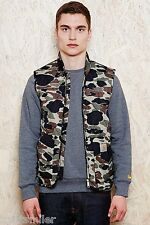 Carhartt Isle Quilred Gilet in Camo UK S Was £90 Brand New Sale