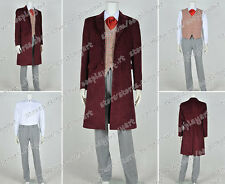 Who Is Doctor The 4th Fourth Dr Tom Baker Cosplay Costume Suit Full Set Garment