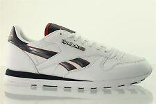 Reebok Classic Leather Tech Mtl Mens Trainers V44340 White New UK