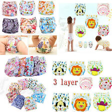 Baby Infant Adjustable size Cloth Diaper Training Pant TPU Nappy Cloth Diaper