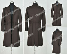 Who Buy Doctor The 4th Fourth Dr Tom Baker Cosplay Costume Trench Coat Wool Ver