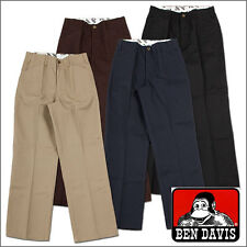 Ben Davis Work Pants Men's Original Ben's Cotton Blend Heavy Weight Twill Pant