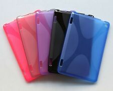 """5 Color X-Line Wave Gel TPU Case Cover For Amazon Kindle Fire HD 7"""" 2014 Tablet"""
