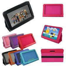 "7"" 7.85"" 8"" 9"" 9.7"" 10.1"" Leather Case Stand Cover For Universal Android Tablet"