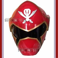 RED POWER RANGERS SABAN'S SUPER MEGAFORCE OUTSIDE CLASPS , HOLES  1/1