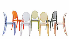 Kartell Victoria Ghost Dining Chair Designer Philippe Starck VARIOUS COLOURS