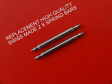 QUALITY SWISS MADE REPLACEMENT SPRING BARS FIT TISSOT 1853 PR50 J376/476 18mm