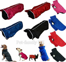 UNHO dog waterproof quality warm coat fleece jacket clothes small to extra large