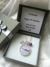 NECKLACE SPECIAL AGE PERSONALISED ANY NAME PENDANT GIFT BOX UNIQUE GIFT